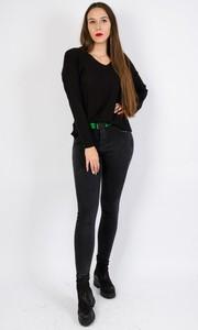 Czarne jeansy Olika w stylu casual