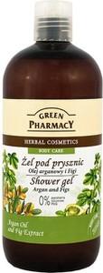 Elfa Pharm Green Pharmacy Żel pod prysznic Olejek Arganowy &Figa 500ml