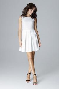 Sukienka LENITIF mini bez rękawów wyszczuplająca