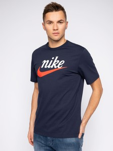 Granatowy t-shirt Nike