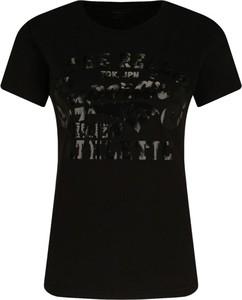 Czarny t-shirt Superdry z krótkim rękawem