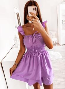 Sukienka Pakuten hiszpanka bez rękawów mini