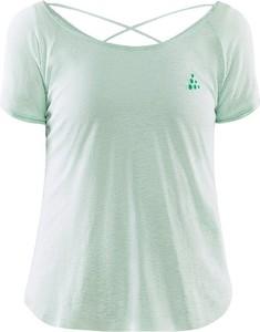 Bluzka Craft z krótkim rękawem w sportowym stylu