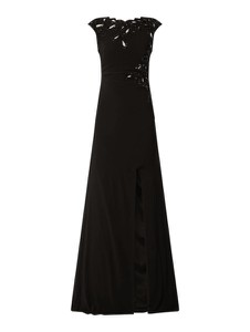 Czarna sukienka Luxuar maxi