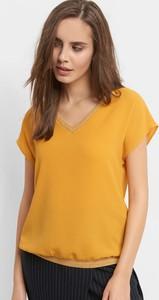 Bluzka ORSAY z krótkim rękawem z tkaniny