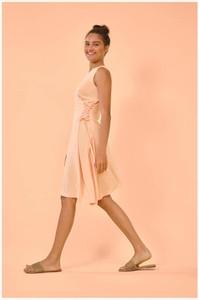 Sukienka ORSAY z okrągłym dekoltem asymetryczna mini