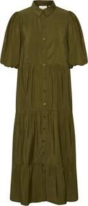 Zielona sukienka Gestuz