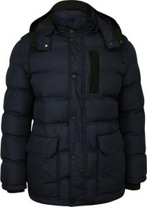 Granatowa kurtka Gustaff w młodzieżowym stylu