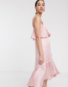 Sukienka Soaked in Luxury na ramiączkach