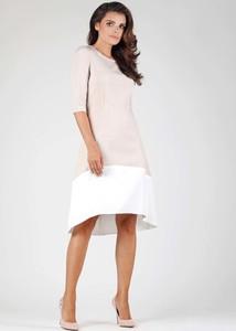 Sukienka Nommo midi w stylu casual