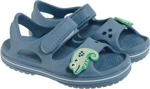 Buty dziecięce letnie Cool Club ze skóry dla chłopców na rzepy