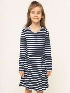 Sukienka dziewczęca Tommy Hilfiger w paseczki