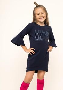 Granatowa sukienka dziewczęca Liu-Jo