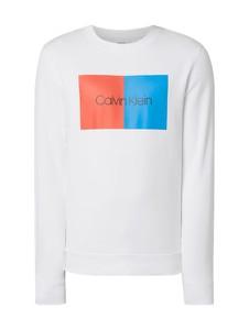 Bluza Calvin Klein w młodzieżowym stylu z dzianiny