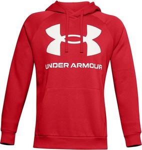 Czerwona bluza Under Armour w sportowym stylu