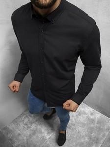 Koszula Ozonee z długim rękawem w stylu casual
