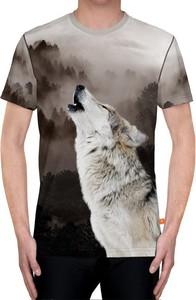 T-shirt Power Canvas z nadrukiem z bawełny