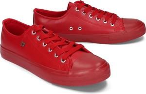 BIG STAR V174348 czerwony, półtrampki męskie - Czerwony