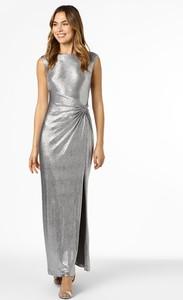 Sukienka Ralph Lauren bez rękawów maxi z okrągłym dekoltem