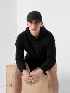 Czarna bluza 4F w sportowym stylu z dzianiny