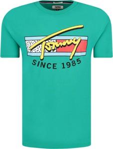 T-shirt Tommy Hilfiger (wszystkie Linie) z bawełny z krótkim rękawem