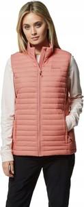 Różowa kamizelka Craghoppers w stylu casual