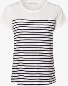 T-shirt Tom Tailor Denim w młodzieżowym stylu z krótkim rękawem