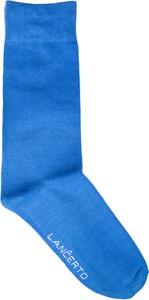 Niebieskie skarpety LANCERTO