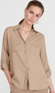 Koszula Reserved w stylu casual z kołnierzykiem