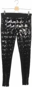 Czarne legginsy Twist & Tango w stylu glamour