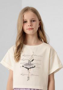 Bluzka dziecięca 4F z krótkim rękawem