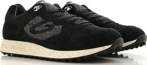 Buty sportowe Alberto Guardiani w młodzieżowym stylu z zamszu