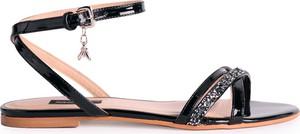 Sandały Patrizia Pepe ze skóry w stylu casual