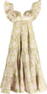 Sukienka Zimmermann z dekoltem w kształcie litery v