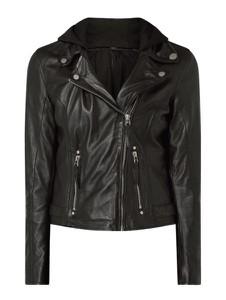 Czarna kurtka Gipsy w rockowym stylu krótka