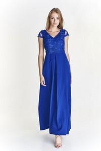 93e8c46d16 sukienka wieczorowa dla 50 latki - stylowo i modnie z Allani