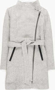 Płaszcz Gate bez kaptura krótki w stylu casual