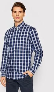 Niebieska koszula Tommy Hilfiger w stylu casual z długim rękawem
