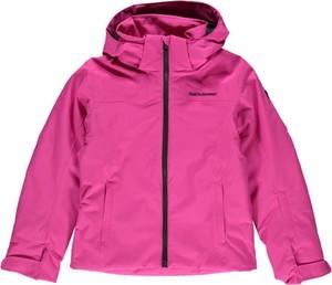 Różowa kurtka dziecięca Peak performance dla dziewczynek