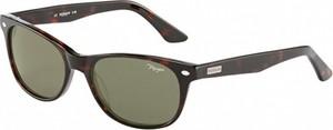 Czarne okulary damskie Morgan