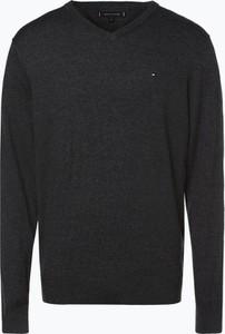 Czarny sweter Tommy Hilfiger w stylu casual
