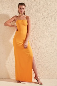 Sukienka Trendyol na ramiączkach maxi