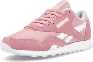 Różowe buty sportowe dziecięce Reebok sznurowane