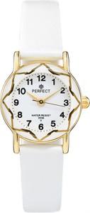 Zegarek na komunię damski PERFECT - L248-4A -biały