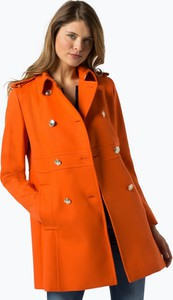 Pomarańczowy płaszcz Tommy Hilfiger