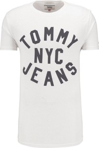 T-shirt Tommy Jeans z dzianiny