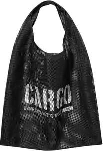 Czarna torebka CARGO by OWEE w wakacyjnym stylu na ramię