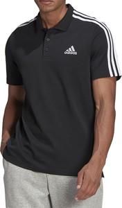 Koszulka polo Adidas z bawełny w sportowym stylu