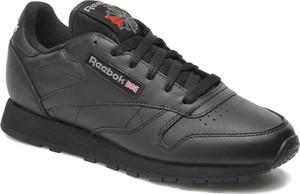 Czarne buty sportowe Reebok Classic sznurowane