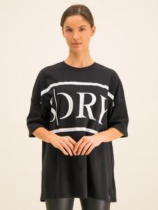 Czarny t-shirt Superdry z okrągłym dekoltem